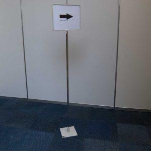 informatie posterbord standaard