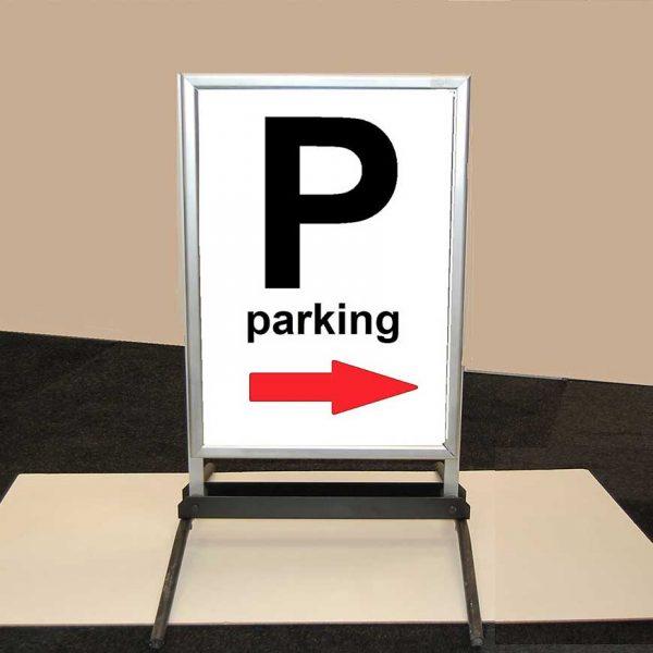 parkeer posterbord