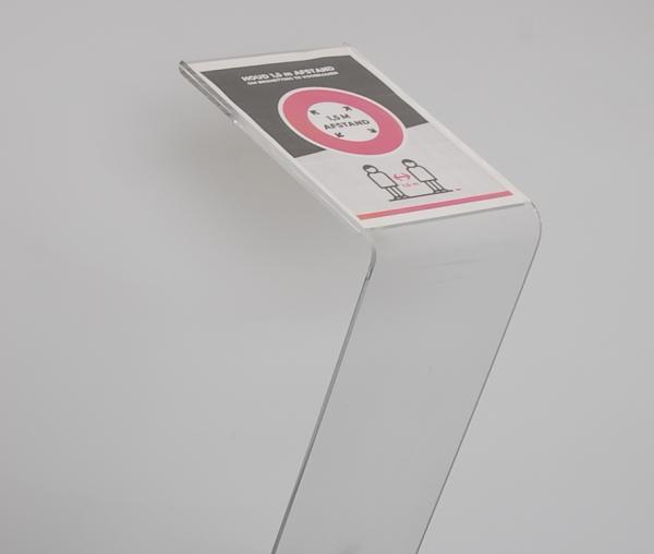 transparante posterbord