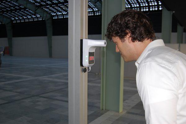 temperatuur scanner poort